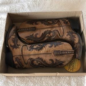 Handcrafted cowgirl boots